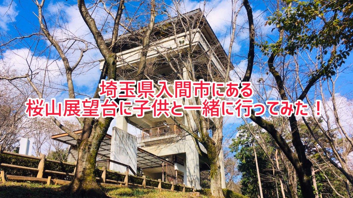 埼玉県入間市にある桜山展望台に子供と一緒に登ってみました!駐車場も ...